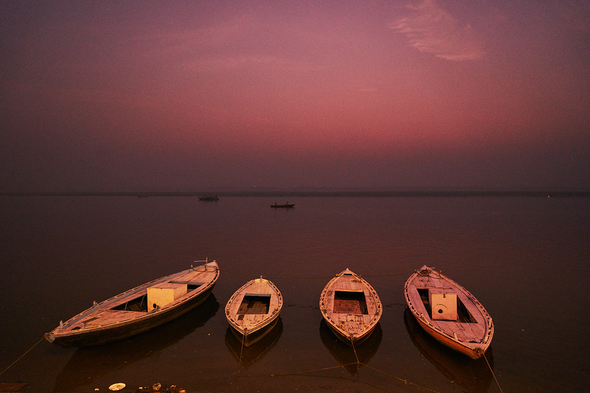 Boats at dawn